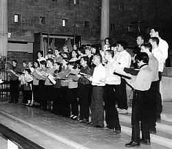 Attention chorale de jeunes !