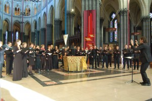 Concert In Praise of Benjamin à Notre-Dame de la Treille